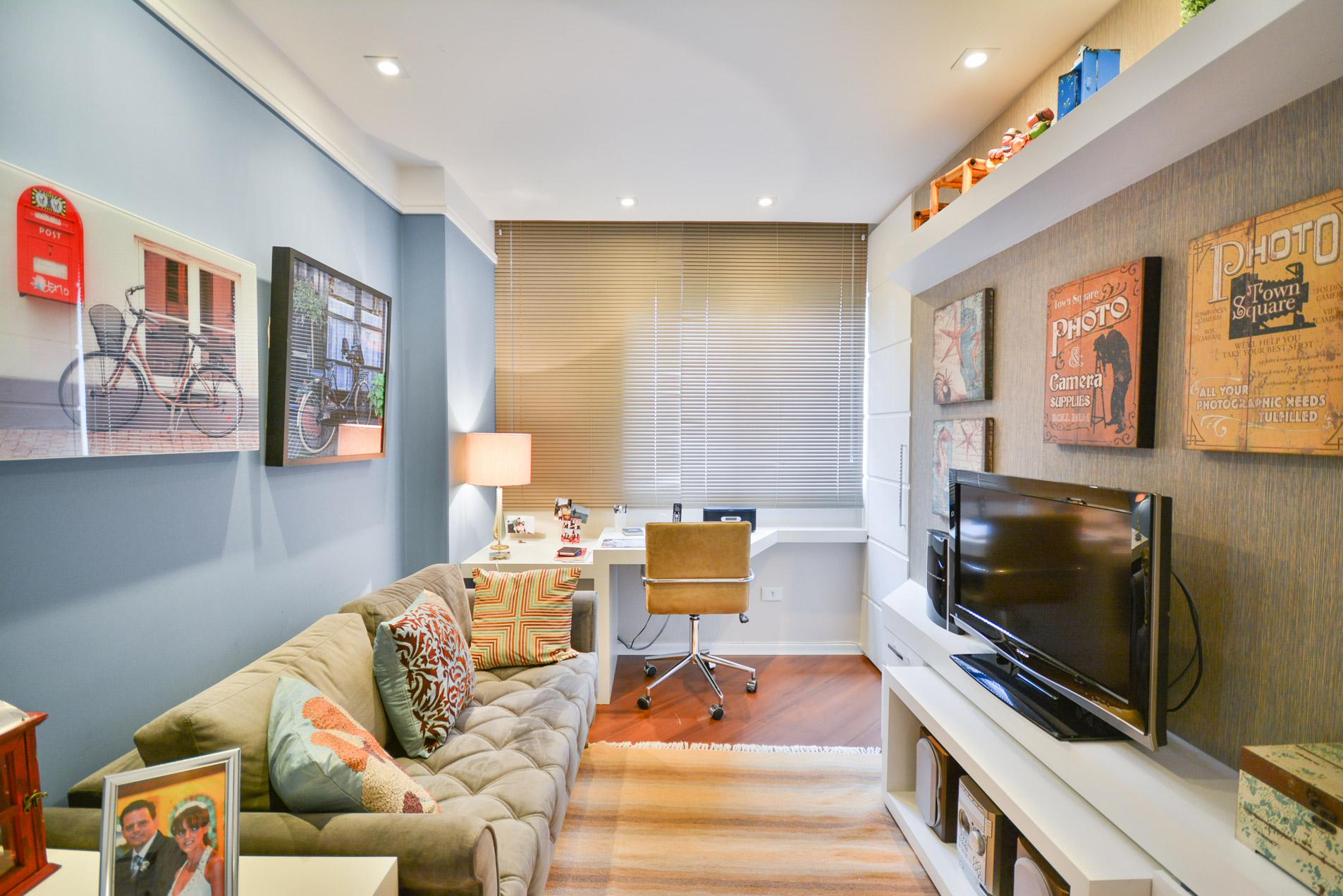 Apartamento r bender arquitetura e decora o curitiba for Pintado de salas pequenas