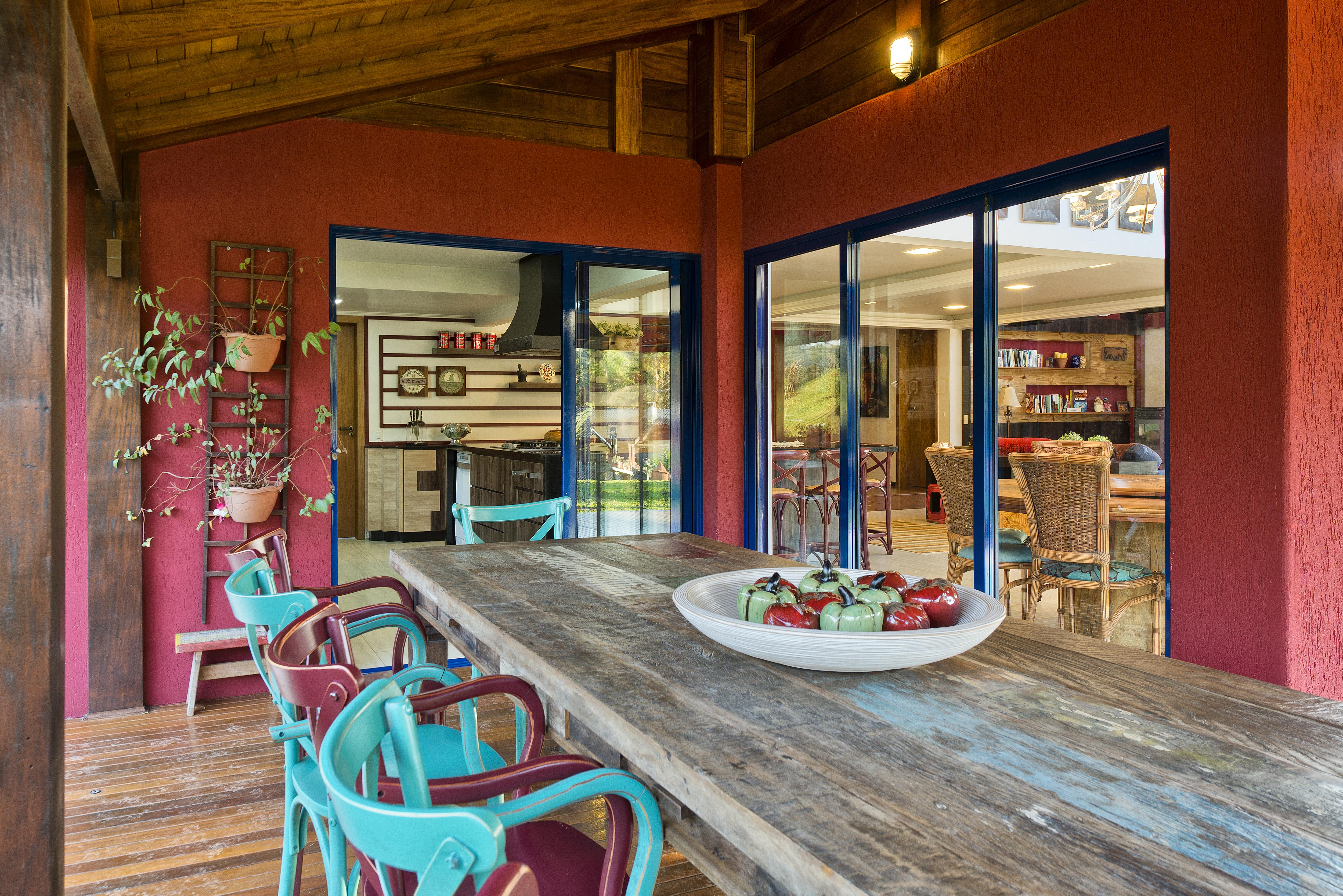 Amado Casa de Campo decorada no Parana BK44